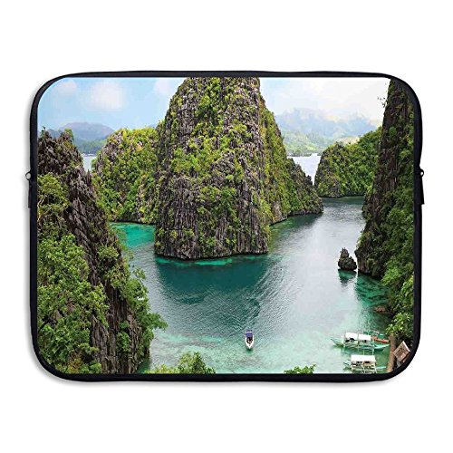 ALLX00QOQ Landscape Of Majestic Cliff In Philippines Wild Hot Nature Resort Off Picture Water-resistant Laptop Protective Bag Size 13 - Hot Womens Philippines