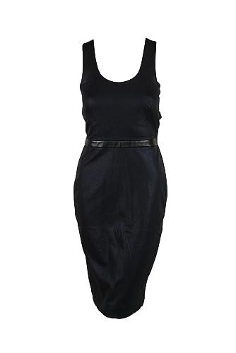 Nicole Miller Womens Glazed Rib Ponte Dress