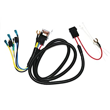 Car Diy Tuning 12v Truck Car Horn Relay Wiring Harness Kit For ... Harley Davidson Horn Relay Wiring on distributor wiring, horn switch wiring, horn schematic, horn solenoid wiring, headlight wiring, horn wiring circuit, horn speaker wiring, voltage regulator wiring, oxygen sensor wiring, horn wire double switch, generator wiring, horn wiring 13 and 15, horn symbol, fuel pump wiring, ignition switch wiring, fuel injector wiring, horn wiring diagram, coil wiring, starter wiring,