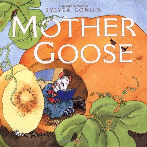 Nursery Rhyme Plate - Sylvia Long's Mother Goose