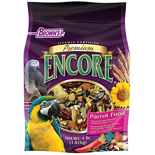 F.M. Brown's Encore Parrot Food, 4-Pound by F.M. Brown's (Image #1)