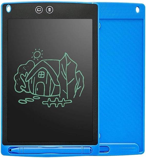 LCDライティングタブレットデジタルeWriter電子グラフィックタブレット描画タブレット消去可能なポータブル落書きボード ペン&タッチ マンガ・イラスト制作用モデル (Color : Blue)