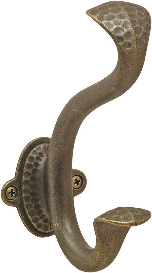 Hickory Hardware P2175-WOA 5-1//16-Inch Signature Hook Windover Antique