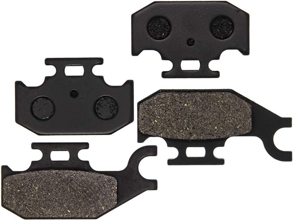 NICHE Brake Pad Kit For Honda King Quad 400 450 500 59100-31880 59100-31870 Front Semi-Metallic