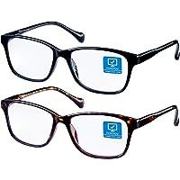 2-Pack Kenzhou Blue Light Blocking Reading/Gaming/TV/Phones Glasses