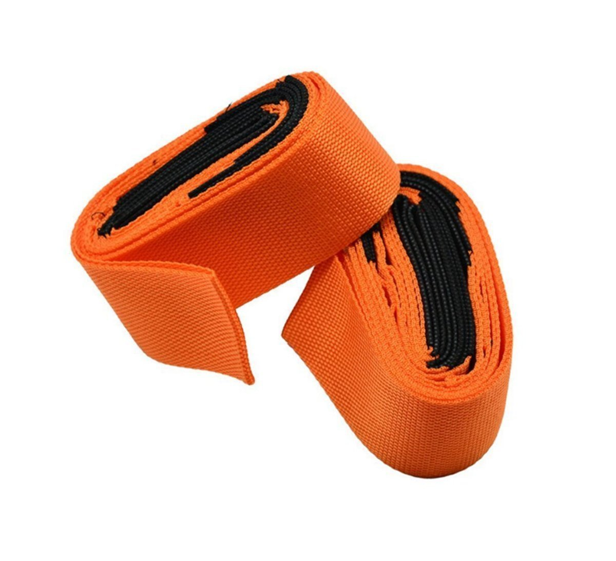 Wommty 2-Person Lifting and Moving Straps - Easily Move Lift Carry And Secure Furniture Appliances Straps and Harnesses for 2 Movers - Great Tool To Add To Moving Supplies (Orange) Wommty EU