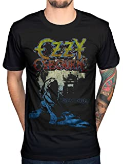 Vintage Ozzy Osbourne print rock metal  Sleeveless Top COTTON T-SHIRT