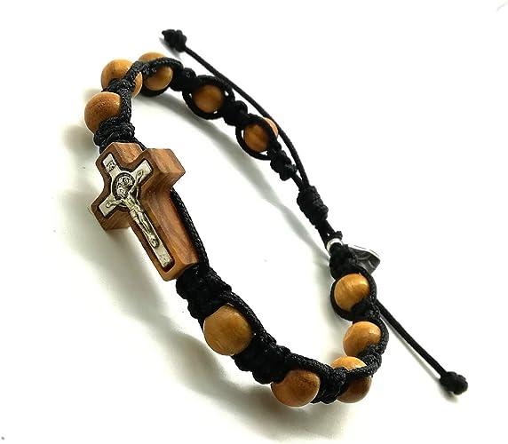 not a bracelet Handmade 8mm wooden one decade Mercy chaplet