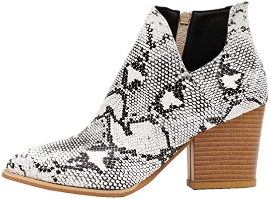 Milky Way Womens Ankle Boots Slip