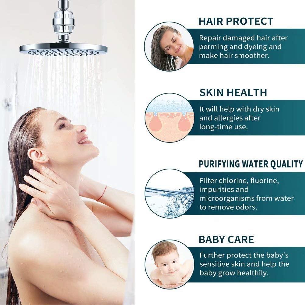 SITAFL 17-Stage Shower Head Water Filter