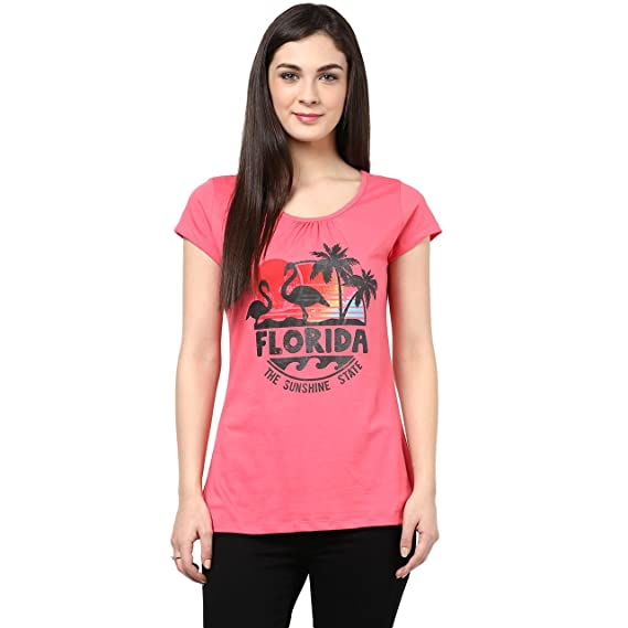 369f41bbf88 Ajile by Pantaloons Women s Flared T-shirt (205000005541467