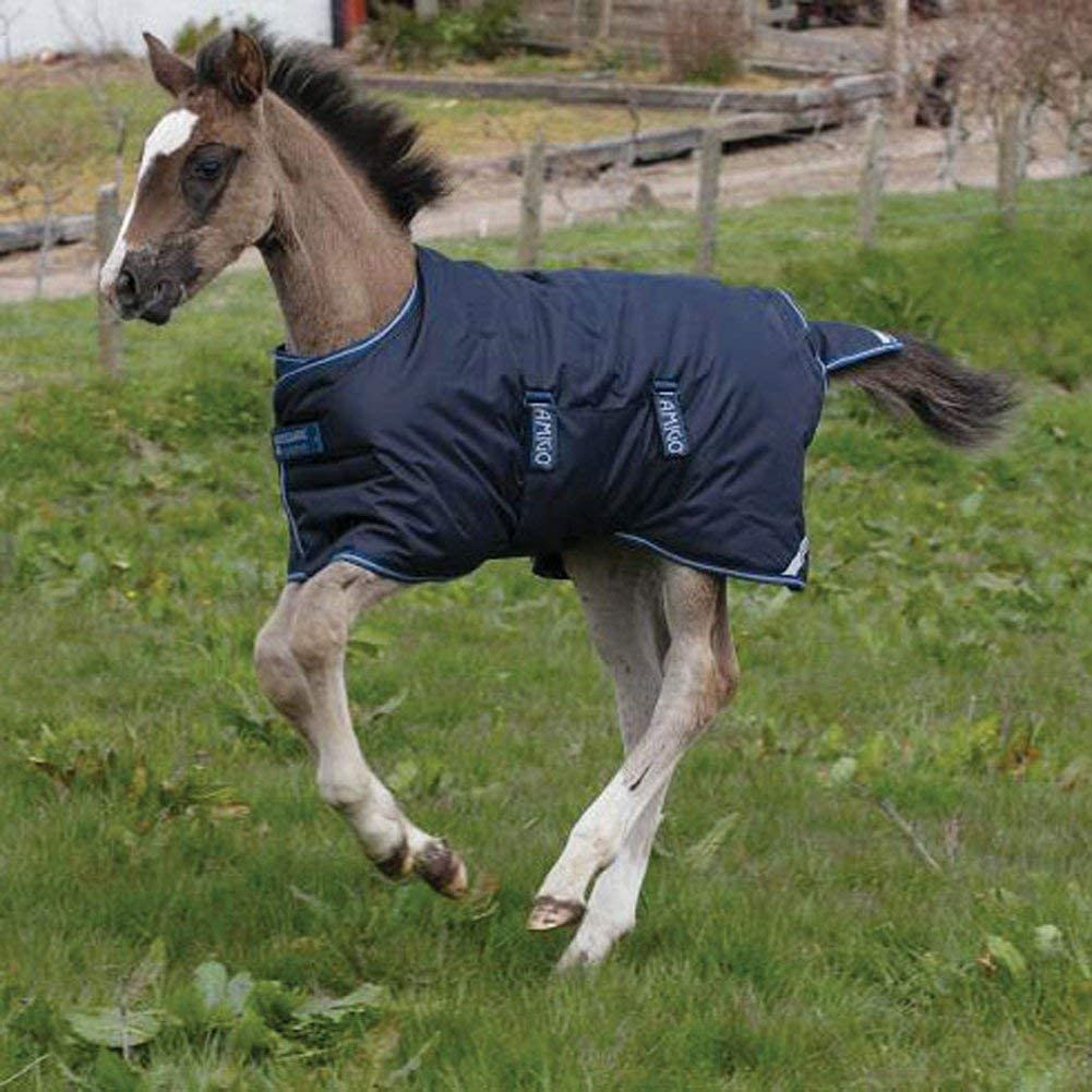 Amigo Foal 200g Turnout Rug Navy//Silver 3ft