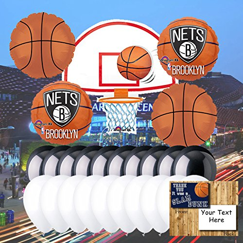 Brooklyn Nets Balloon Set
