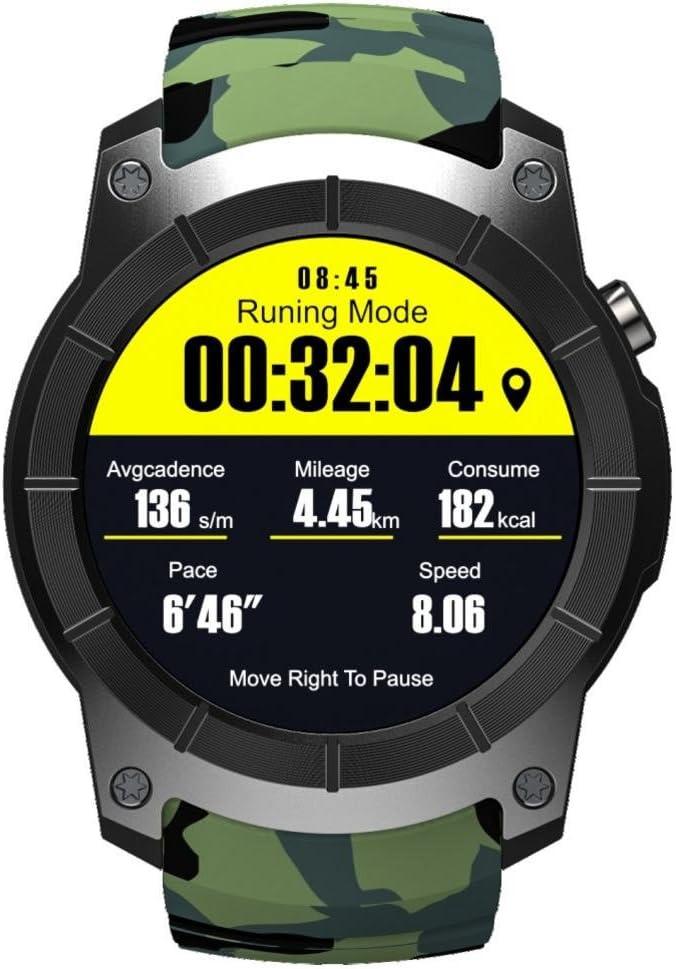 Multifuncional Smart Watch Hombre Mujeres Reloj Inteligente,S958 Para Adultos Heart Rate Monitor Bluetooth Reloj Deportivo Con Gps/Presión De Aire//Llamada Corazón Tasa/Caso Recordatorios En La Salud