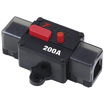 T-Spec V12-CBF200 V12 Series 200 Amp Circuit Breaker: Car Electronics