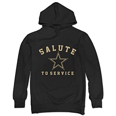 69d1135ef Men's Dallas Cowboys Salute To Service Hoodie New: Amazon.co.uk ...