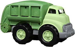 product image for Green Toys Recycling Truck in Green Color - BPA Free, Phthalates Free Garbage Truck for Improving Gross Motor, Fine Motor Skills. Kids Play Vehicles