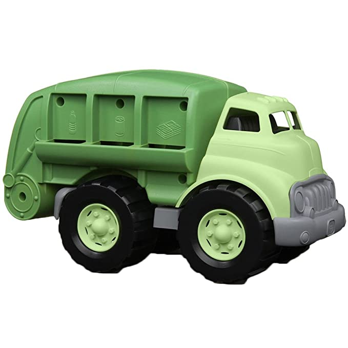 non-toxic baby toy green truck