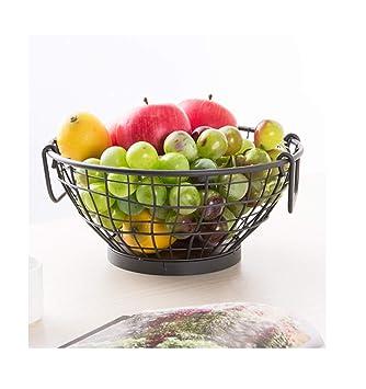 PANGU-ZC Bandeja de Frutas Plato de Frutas Plato de Frutas Moda Fruta Europea Creativa Bandeja Comport: Amazon.es: Hogar