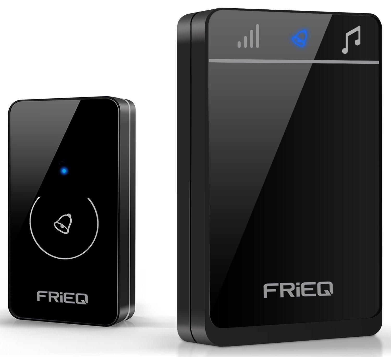 FRiEQ Portable Waterproof Wireless Doorbell - Premium Amazon.co.uk Electronics & FRiEQ Portable Waterproof Wireless Doorbell - Premium: Amazon.co.uk ...