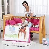 Best Newborn Baby Cribs - i-baby 9 Piece Nursery Crib Bedding Set Review