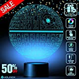 Death Star 3D Light Awesome Gift for Star Wars Fans 75159 (MT271) Starwars