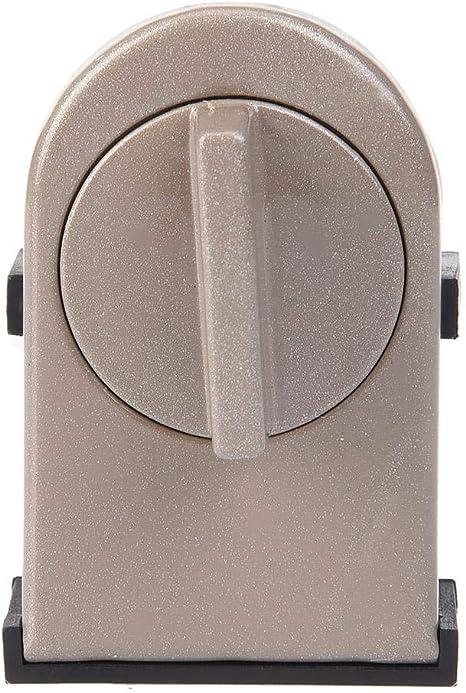 Bloqueo de Seguridad Ventana Puerta corrediza Cerradura de Seguridad del bebé para Ventanas Cerraduras de las correas Puertas Cerraduras de metal con interruptor: Amazon.es: Bebé