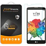 [2-Pack] Supershieldz for LG Stylo 2 V (Verizon) Tempered Glass Screen Protector, Anti-Scratch, Anti-Fingerprint, Bubble Free, Lifetime Replacement Warranty