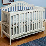 Sorelle Lynn Crib with Mini Rail, White Review