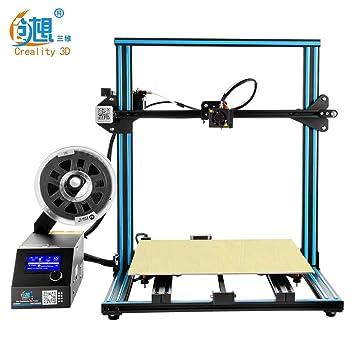 Creality Pro 3D Printer CR-10 Pre-Assembled - Set de Impresora 3D ...