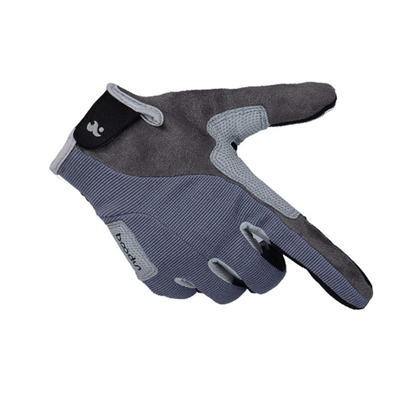 Blisfille Handschuhe Kletternden Handschuhe Lange Finger Handschuhe Abseilausrüstung Abseilen Trägt Rutschfeste Handschuhe Im Freien Größe