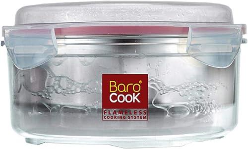 Barocook Round Flameless Cookware, 33-Ounce