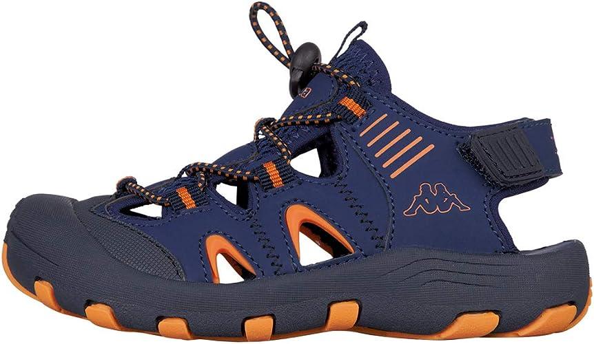 Kappa Taken, Sandalias Deportivas Unisex niños, Azul (Navy/Orange 6744), 34 EU: Amazon.es: Zapatos y complementos