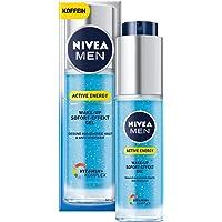NIVEA MEN Active Energy Wake-up Sofort-Effekt Gel im 1er Pack (1 x 50 ml), vitalisierende Gesichtscreme für Männer, Feuchtigkeitscreme gegen Anzeichen von Müdigkeit