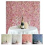 Efavormart-4-PCS-Silk-Hydrangea-Artificial-Flower-Mat-Wall-Wedding-Party-Event-Decoration