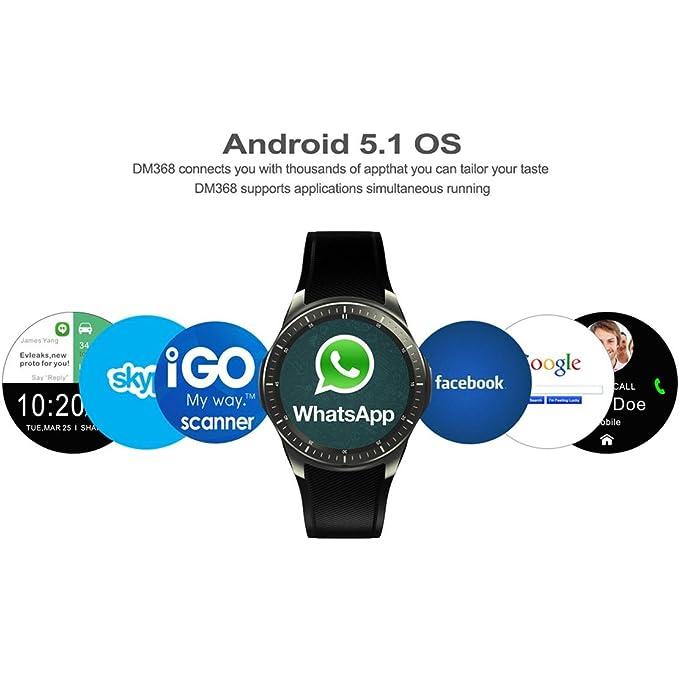 DM368 Deportes al aire libre Smart Watch WIFI ritmo cardíaco ...