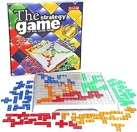 STARTER El Juego De Estrategia Blokus Top Board Game Juguetes ...