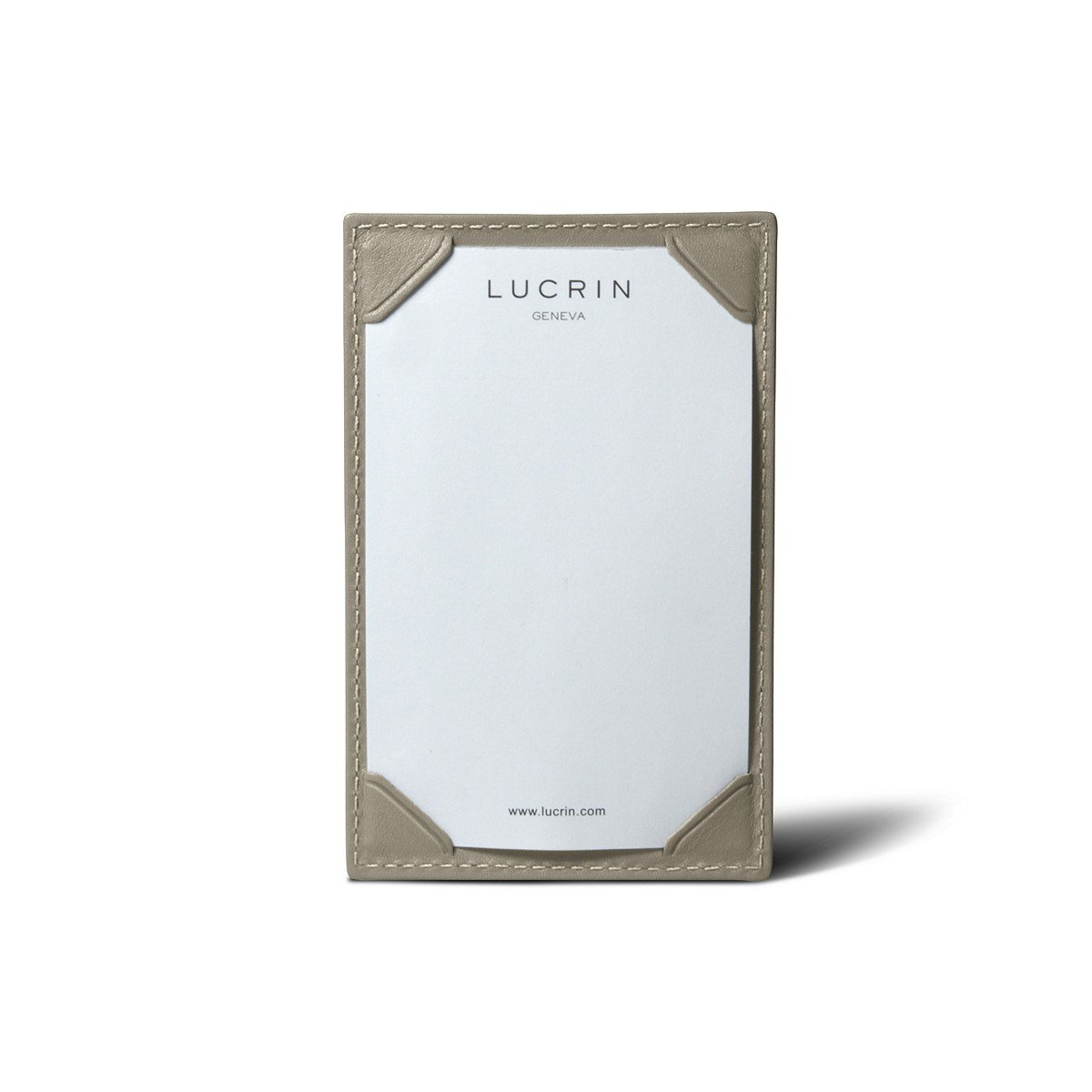 Lucrin – Small手書きパッド4.3 X 2.8インチ – Smoothレザー B006GTT852 ライトタープ ライトタープ