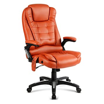 8 point electric massage executive office computer chair heated