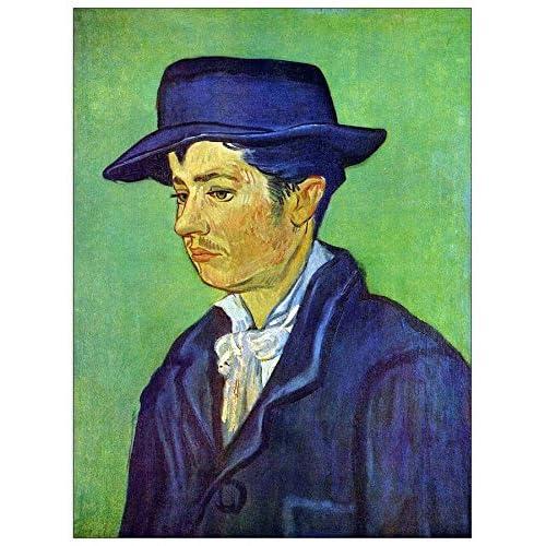 ArtPlaza Van Gogh Vincent - Armand Roulin Panneau Décoratif, Bois, Multicolore, 60 x 1.8 x 80 cmAS90564