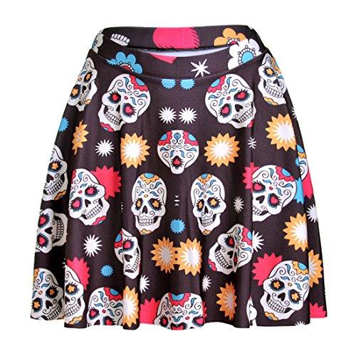 de YICHUN Skirt Femme Jupon Soire Tte de Mini de Shorts Crne Fille Plage 2 Mini Jupe Line Robe Tutu Jupe A rqrdXvOw
