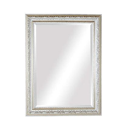 Amazon.com: Bathroom Mirrors Vanity Mirror Wall-Mounted HD Makeup ...