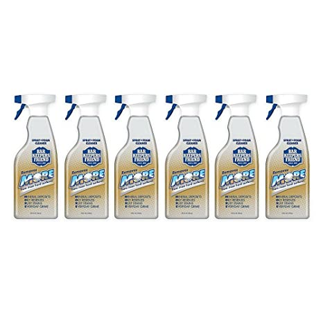 Amazon.com: Bar Keepers Friend Spray y limpiador de espuma ...