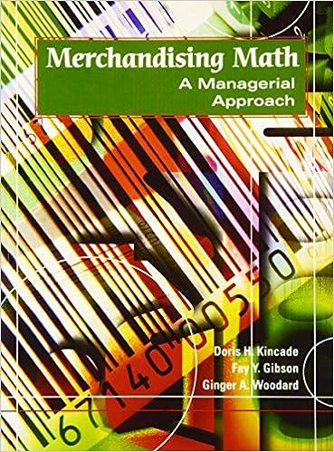 Amazon.com: Merchandising Math: A Managerial Approach ...