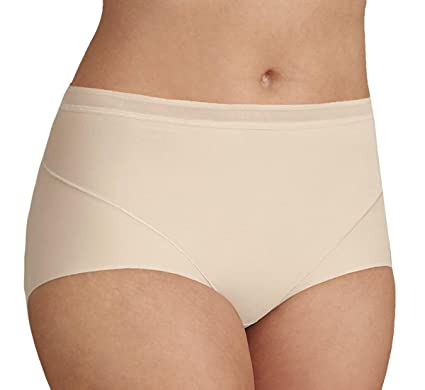 f740652a1478 Ex M and S Womens Light Control No VPL Full Brief Knickers Almond: Amazon.co .uk: Clothing