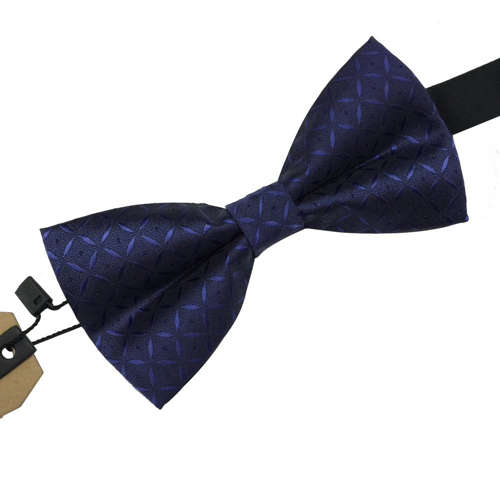 Many Colors Available AINOW Mens Classic Pre-Tied Formal Bowties Tuxedo Bow Ties