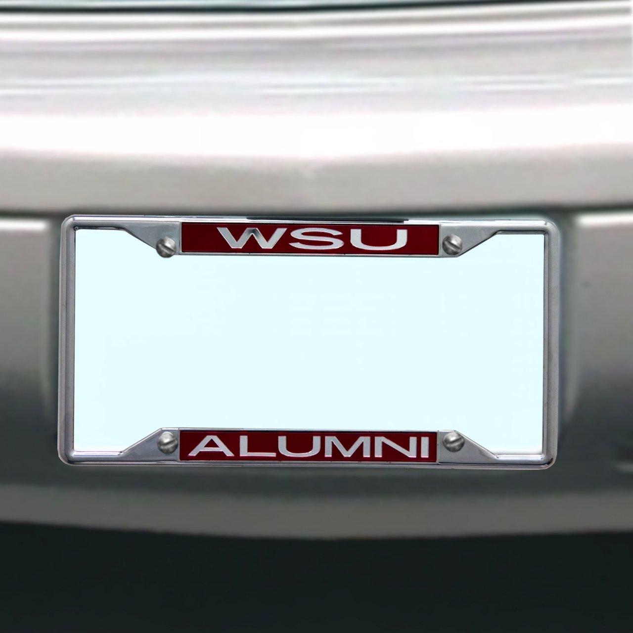 Amazon.com : NCAA Washington State Cougars License Plate Frame ...