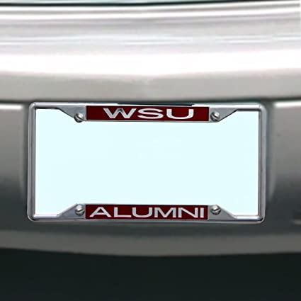 NCAA Washington State Cougars License Plate Frame Alumni