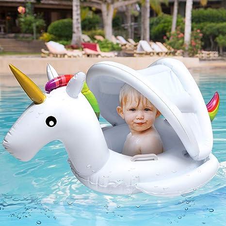 Amazon.com: Soyoekbt - Flotadores inflables para bebés de 3 ...