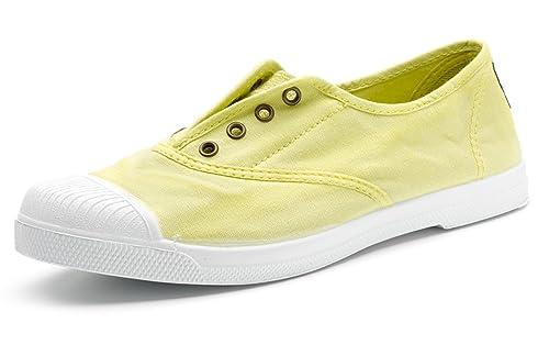 grand choix de ebafb cc679 Natural World Eco – Chaussure Baskets VEGAN Tennis Tendance en Tissu  Écologique pour femmes – Mode – NOUVEAUTÉ - Coloris variés